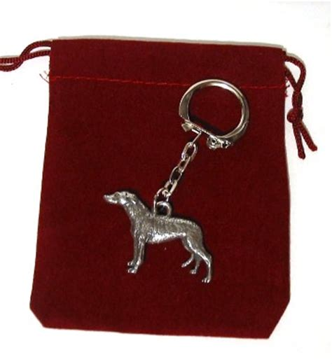 Greyhound Gift Card - greyhound dog keyring pewter pet gift from paws for pet gifts this