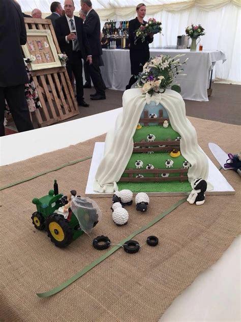 my beautiful farm themed wedding cake so beautiful weddings themed wedding cakes wedding