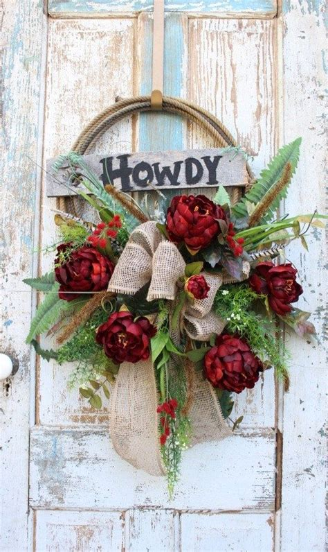 cowboy decorations for home 25 best ideas about western wreaths on burlap cross wreath diy wreath hanger and