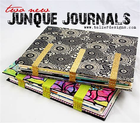 design methods journal balzer designs art journal every day two new junque journals