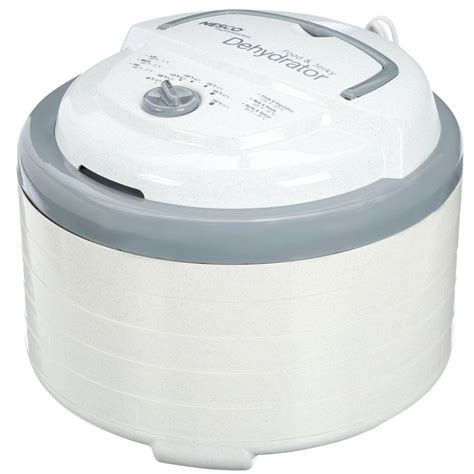 nesco professional 600w 5 tray food dehydrator fd 75pr cuisinart 5 tray food dehydrator dhr 20 the home depot