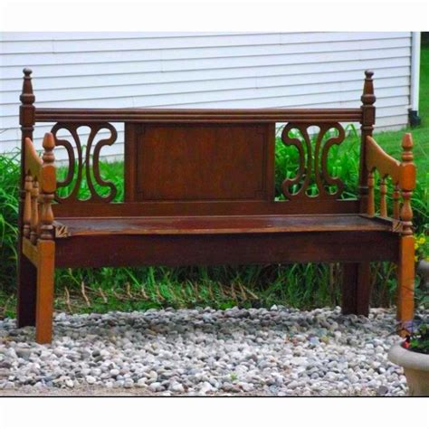 benches made from headboards headboard benches crafts
