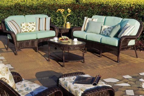 Luana Outdoor Resin Wicker Patio Furniture Set Resin Wicker Outdoor Patio Furniture