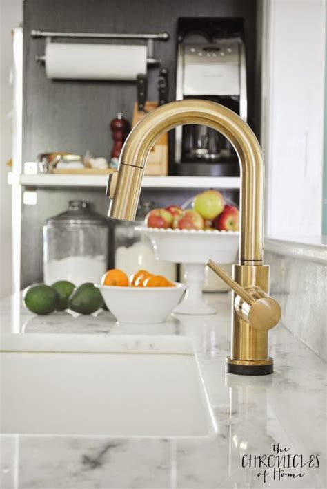Satin Nickel Kitchen Faucets by The Prettiest Kitchen Faucet You Ever Did See The
