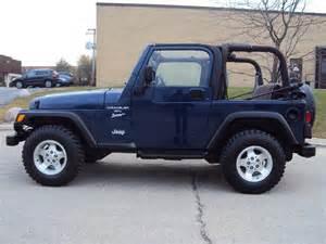 2000 jeep wrangler sport stock specs