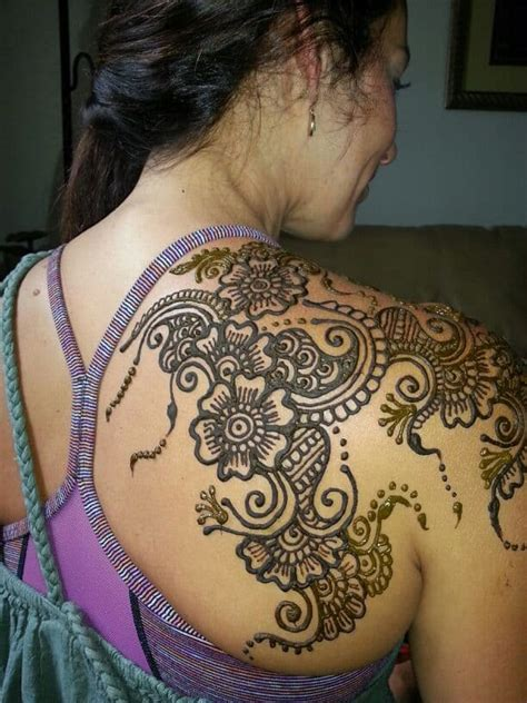 mehndi tattoo designs for girls 25 shoulder mehndi designs for sheideas