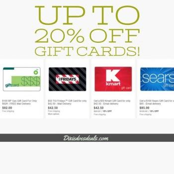 Sears Gift Card Deals - 100 sears gift card only 85 more gift card deals