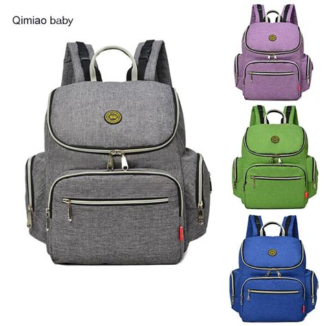 Simple Bag Baby Bag 1 anti theft mummy bag backpack fashion simple baby nappy