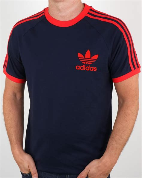 Adidas Tshirt adidas t shirt navy california 3 stripes