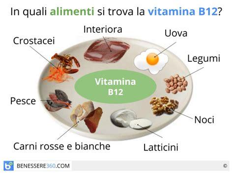 in quali alimenti si trova la vitamina b vitamina b12 a cosa serve dove si trova alimenti