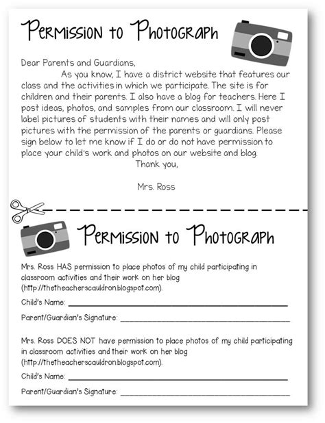photo release form template for children best 25 survey ideas on