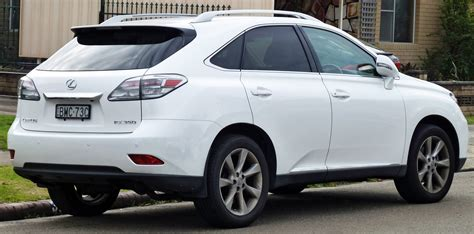 white lexus 2010 file 2009 2010 lexus rx 350 ggl15r sports luxury wagon