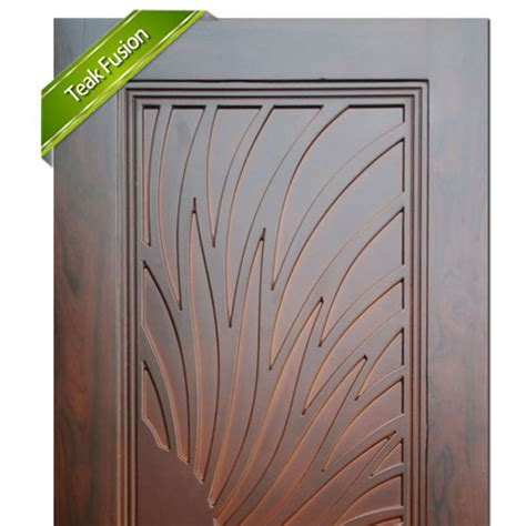 entrance doors wooden door teak fusion 4411
