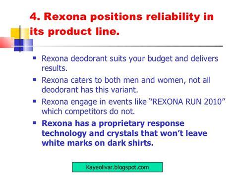 v53 rexona 10 step marketing plan r olivar