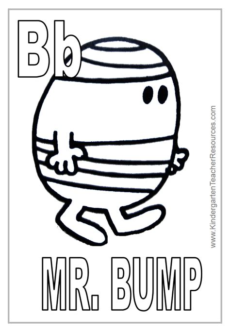 free coloring pages of mr impossible mr men