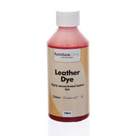 leather dye solution for dyeing leather