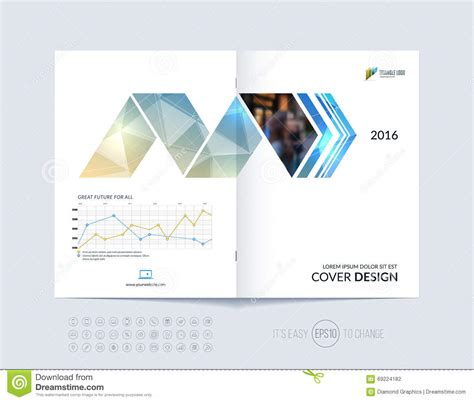 layout of cover page of a report brochure template layout cover design annual report