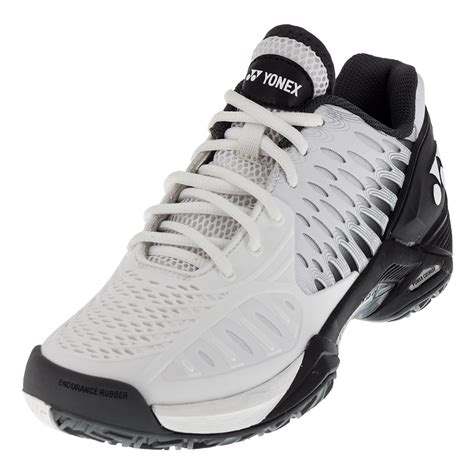 yonex sports shoes yonex s power cushion eclipsion tennis shoes in black