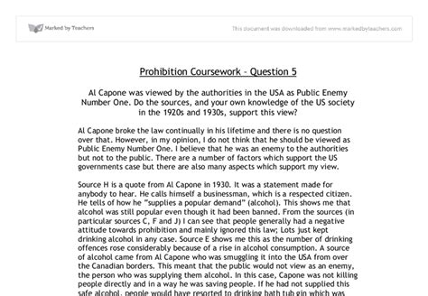 Prohibition History Essay by Essay On Effects Of Prohibition In 1920 In Usa