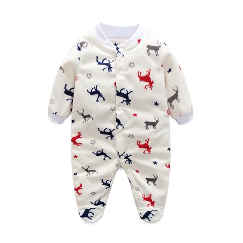 Unisex Newborn Sleepers by Unisex Baby Clothes Baby Boy Footed Rompers Infant