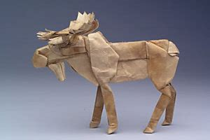 Origami Moose - the origami resolution schof s
