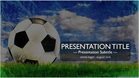free football powerpoint template free soccer powerpoint template 6493 sagefox powerpoint