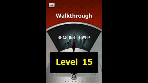100 Floors Level 15 Tower - 100 floors level 15 seasons tower walkthrough