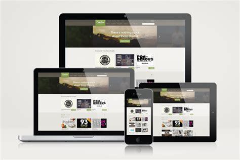 design mockup website free responsive website mockup templates mockup and design