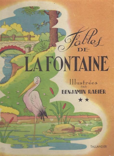 1332373836 les fables de la fontaine les fables de la fontaine rabier fables de la fontaine