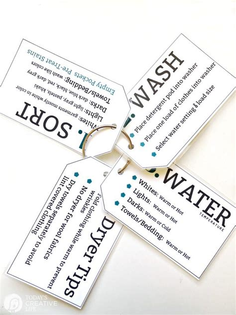 printable laundry tags printable laundry tips for college students today s
