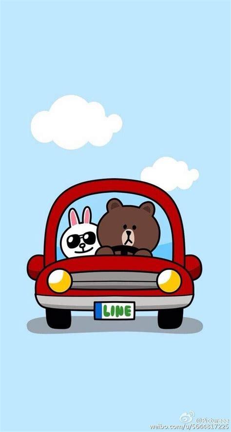 wallpaper cartoon line 571 best line images on pinterest kawaii brownies and bunny