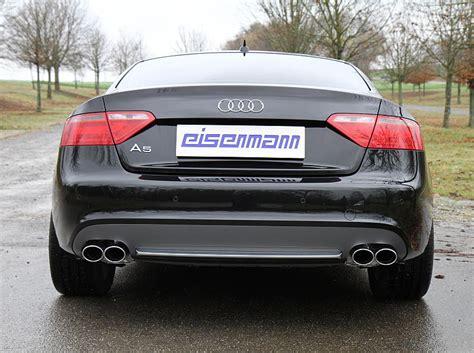 audi s5 performance exhaust eisenmann audi s5 b8 3 0tfsi 8t performance exhaust 4