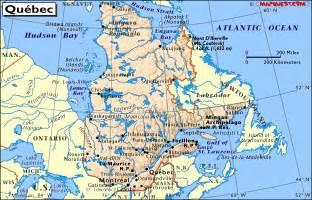 Quebec Canada Map by Map Of Quebec Canada Derietlandenexposities