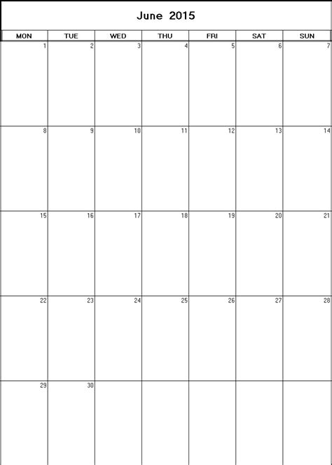 printable calendar 2015 net june 2015 printable blank calendar calendarprintables net