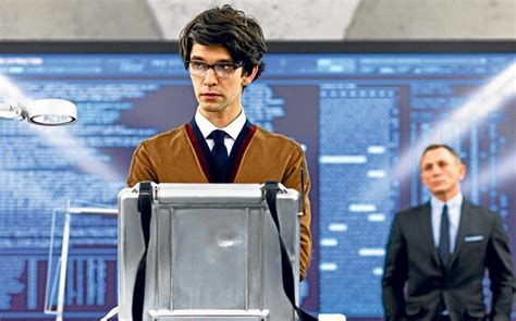 film hacker benjamin ben whishaw on playing q in skyfall i don t even have a