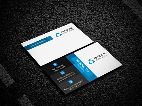Phantom Thief Calling Card Template Free by Creative Business Card Template Business Card Templates