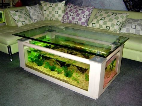 diy aquarium coffee table acrylic fish tank diy diy do it your self