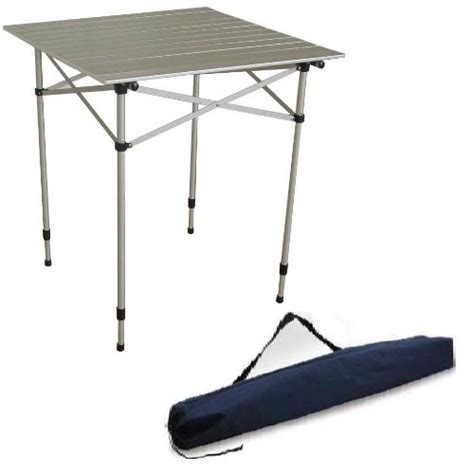 Roll Up C Table by Ming S Ta 8115 Aluminum Roll Up Top Table With