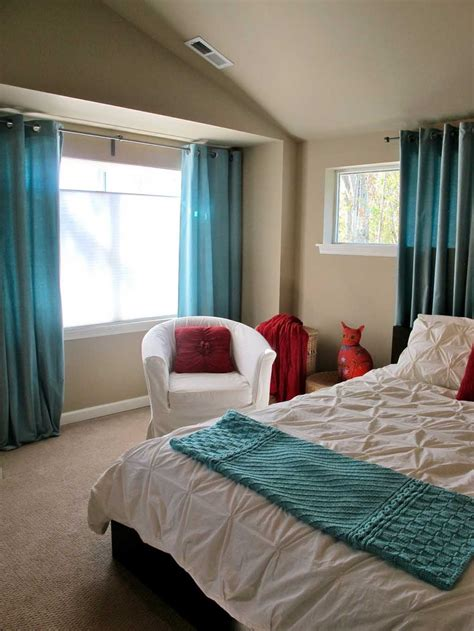 bedroom wall curtains modern turquoise bedroom curtains with feng shui element