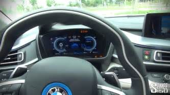 bmw i8 interior and displays