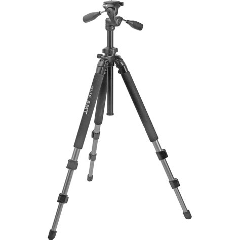 Tripod Slik Slik Pro 500dx Tripod With 3 Way Pan Tilt 615 320 B H