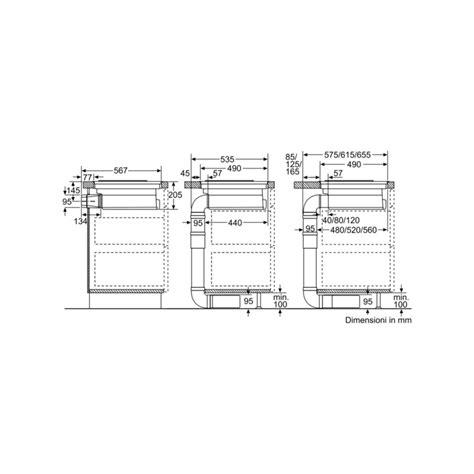 neff piano cottura induzione neff t58ps6bx0 piano cottura induzione con cappa integrata