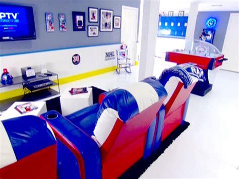 ice hockey bedroom ideas man caves top 10 man caves diy