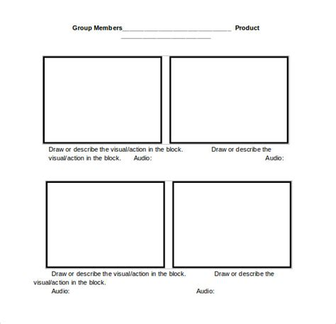 storyboard template word storyboard template word cyberuse