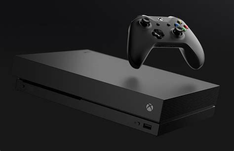 console by microsoft microsoft s xbox one x 4k console is now