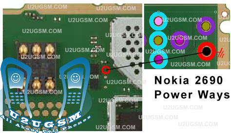 nokia 2690 battery meter themes cell firmware nokia 2690 on off power key track jumper