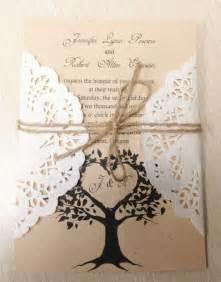 Diy Rustic Wedding Invitations Diy Country Rustic Lace Wedding Invitations At Invitesweddings Com Invitesweddings Com