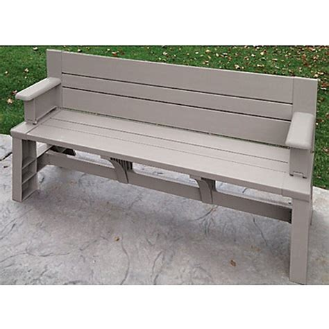 convert bench buy resin convert a bench in tan from bed bath beyond
