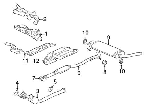 security system 2004 saturn vue spare parts catalogs exhaust manifold parts for 2004 saturn vue gm parts club