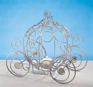 princess carriage centerpiece royal wedding ideas princess